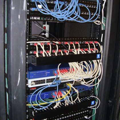 Armario telecomunicaciones