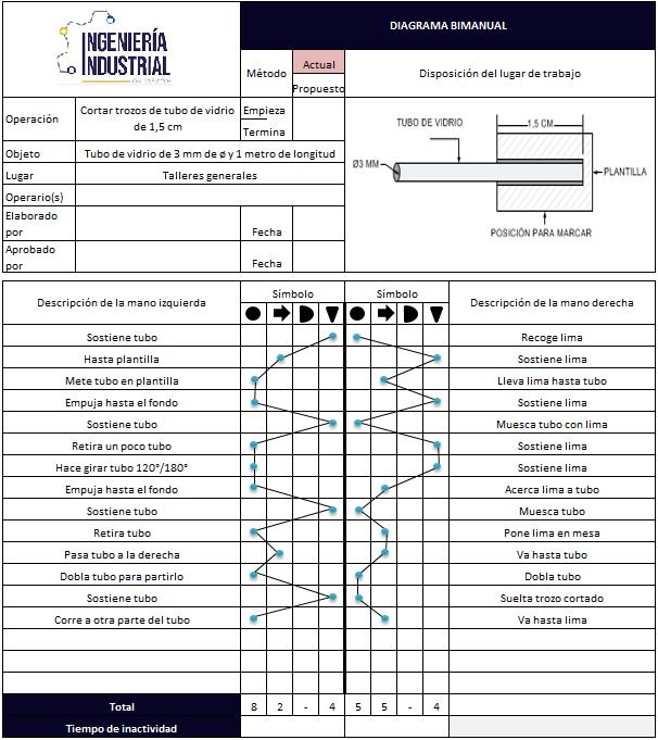 Diagrama bimanual