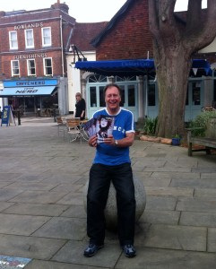 distributing ingenue magazine in Petersfield