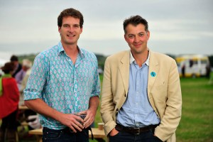 Chalke Valley History Festival Dan Snow and James Holland