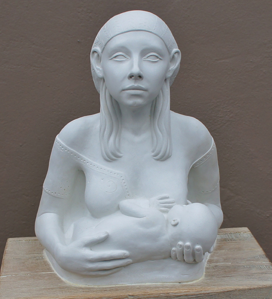Princess Tootee Breast Feeding 2011 Billie Bond 30x23x18cm