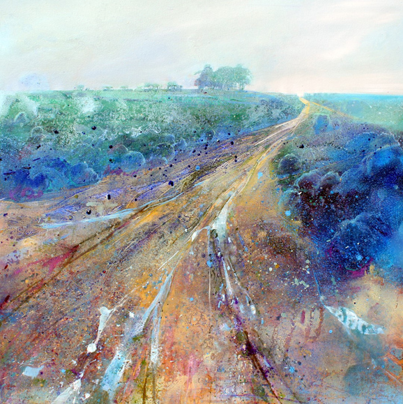 Lorna Holdcroft - After the rain (90x90 cms)