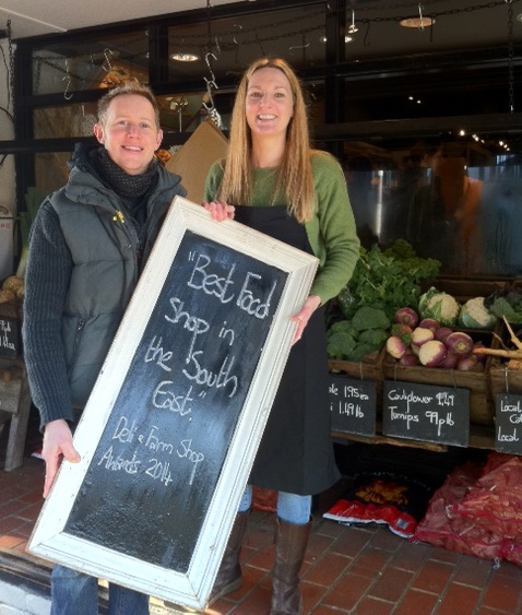 Nick & Nina Hempleman - 'Best Food Shop in the South East'