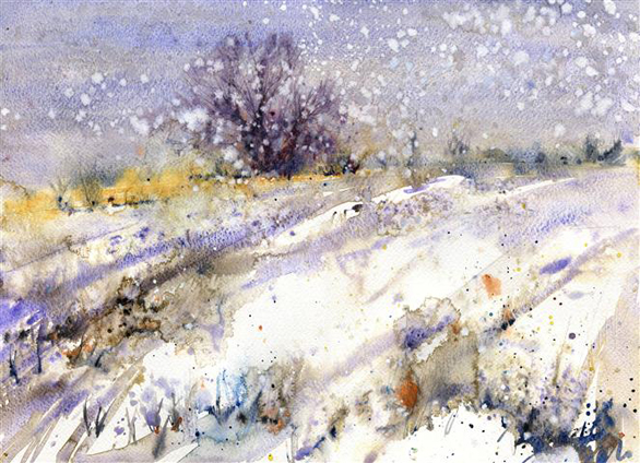 Lorna Holdcroft, Wintry Scene