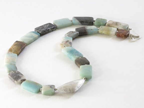 Catherine Thomas, amazonite necklace