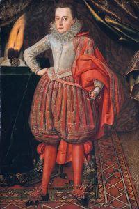 Carlos I de Inglaterra joven