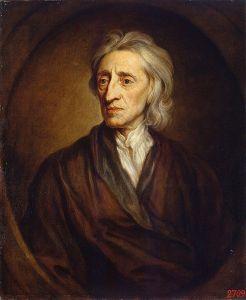 Retrato de John Locke, por Godfrey Kneller