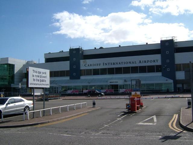 Aeropuerto Internacional de Cardiff.