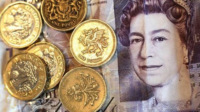 Billetes y monedas de Inglaterra