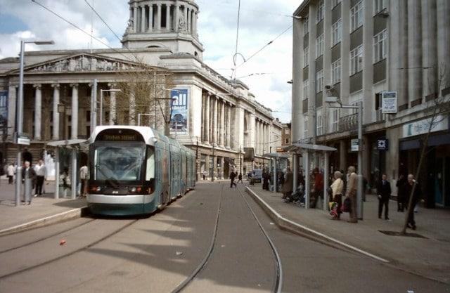 Centro de la ciudad Nottingham