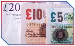 Otras Monedas Y Billetes en Inglaterra