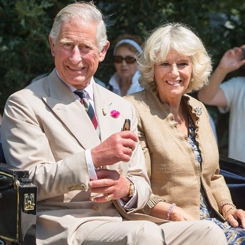 Principe Carlos con Camilla PArker