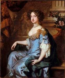 Retrato de la Reina Mary II de Inglaterra