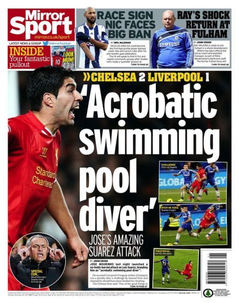 The Daily Mirror sport