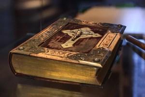biblia clásica de cuero
