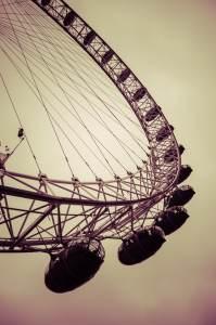 London Eye desde abajo