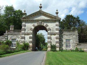 Fonthill Estate gateway near Fonthill Bishop