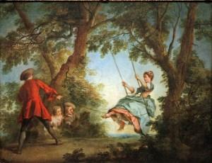 'The Swing' by Nicolas Lancret, 1730-35.