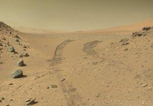Crossing Dingo Gap on Mars, taken by the indefatigable Curiosity Rover near Mt Sharp on Mars.
