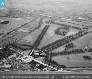 Hampton Court Palace, Hampton Court Park and environs, Hampton Court Park, 1948.