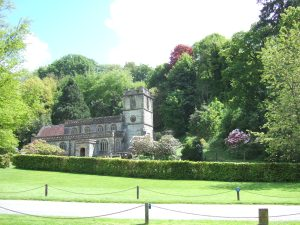Stourton Church, viewed from the same spot as the previous photograph.