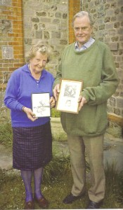 Jocelyne Stacey and Cecil Gould, 1993. Photograph by Jonathan Betts, reproduced in his fantastic 2006 book on Rupert Gould.
