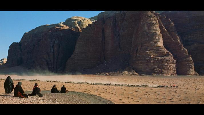 Wadi Rum in Lawrence of Arabia.