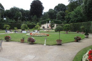 The beautifully kept gardens at Mount Edgcumbe House.