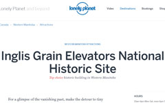 Lonely Planet | Inglis Grain Elevators