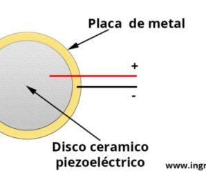 Sensor piezoeléctrico (efecto piezoeléctrico)