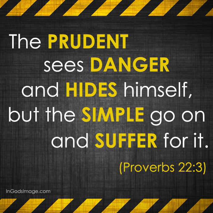 Image result for proverbs 22:3