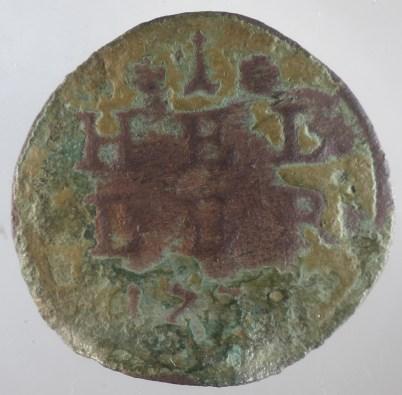 1738 - 1 Heller Brandenburg Bayreuth