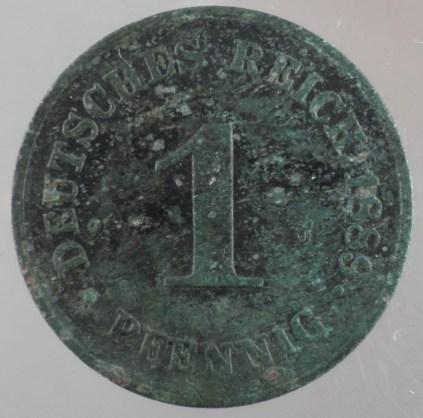 1889 - 1 Pfennig D 1