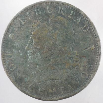 1892 - 2 Centavos Argentinien 1