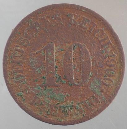 1900 - 10 Pfennig A 1