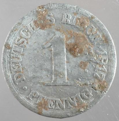 1917 - 1 Pfennig