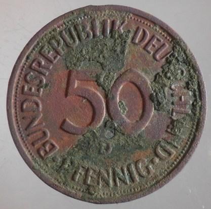 1982 - 50 Pfennig D 1