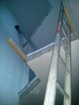 unser finales Treppen... Leiterhaus