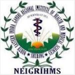 NEIGRIHMS Recruitment 2019 apply Offline 264 various vacancies