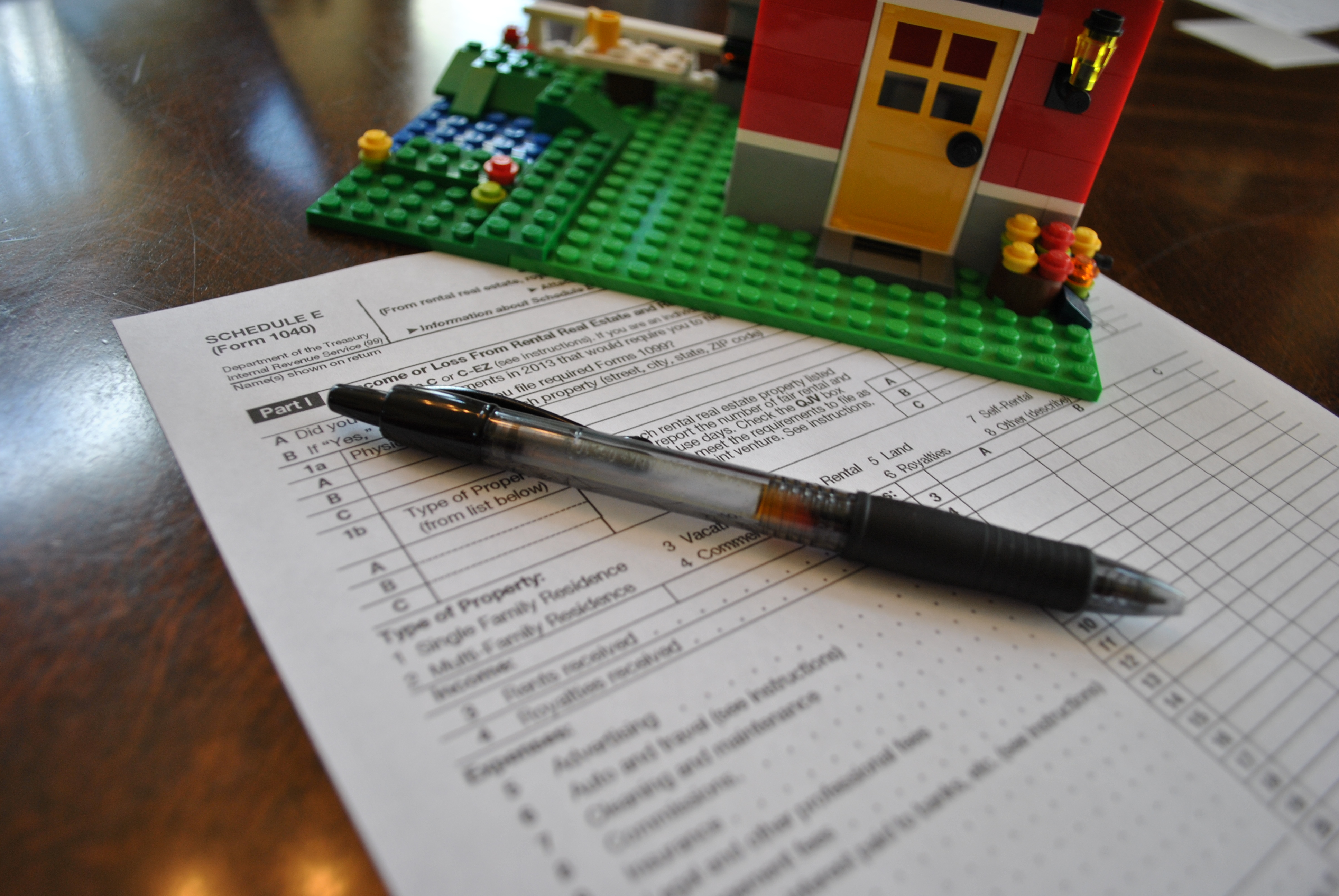 Schedule E Irs Form Image Collections