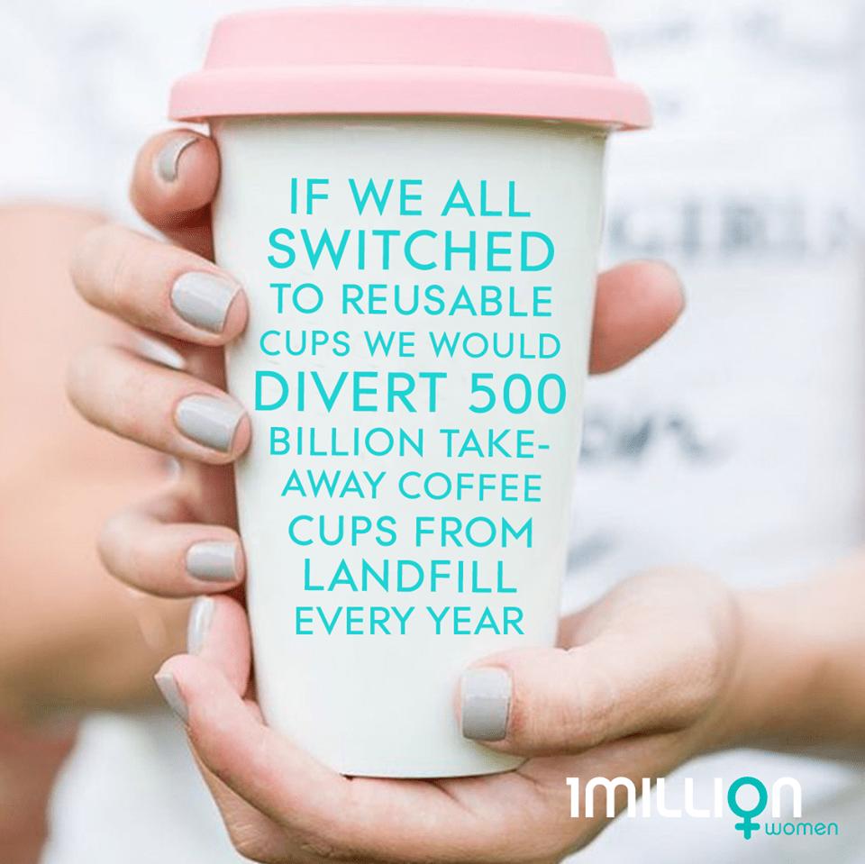 1 Million Women Reusable Cups