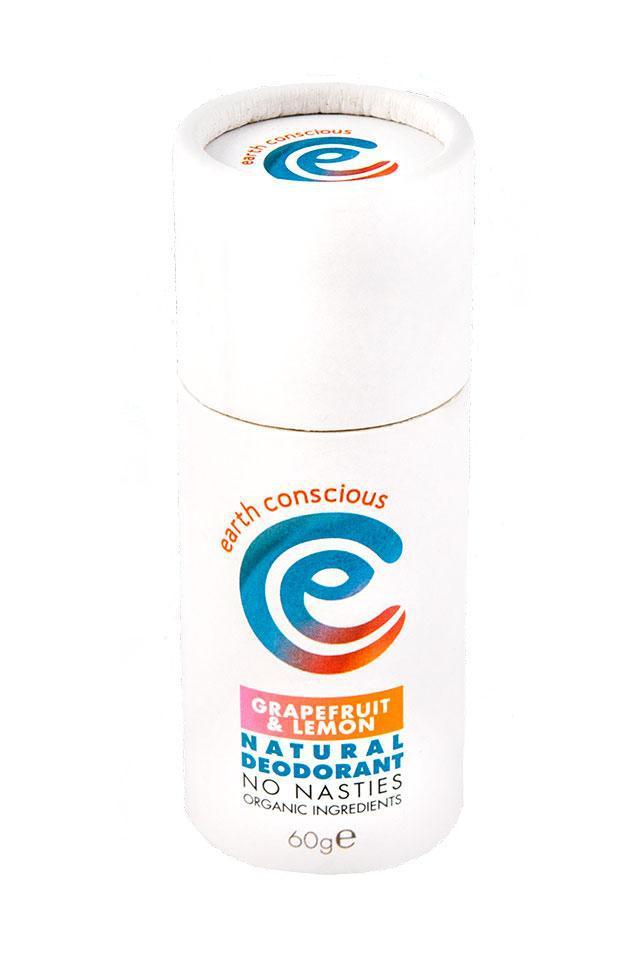 Earth Conscious Grapefruit & Lemon Natural Deodorant