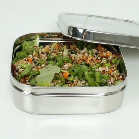 Large Square Tiffin
