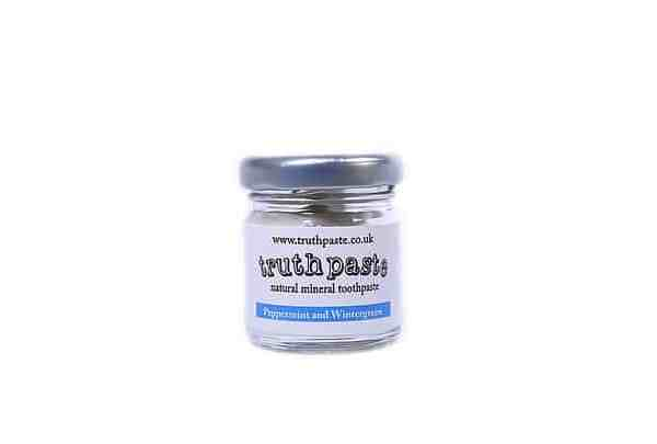 Truthpaste Peppermint and Wintergreens Mini Natural Toothpaste