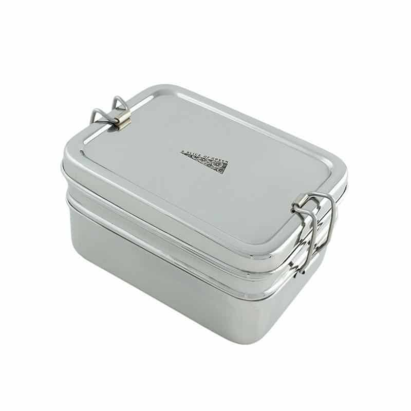 Rectangle Two Layered Tiffin