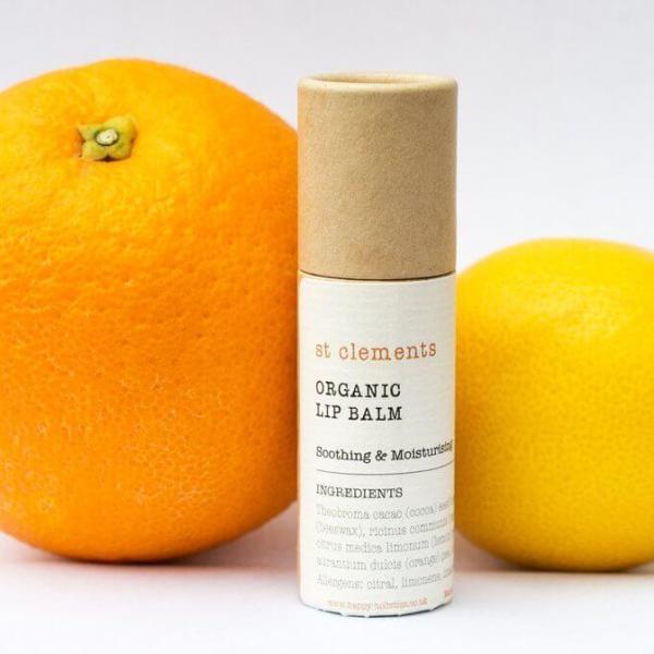 St Clements Organic Lip Balm