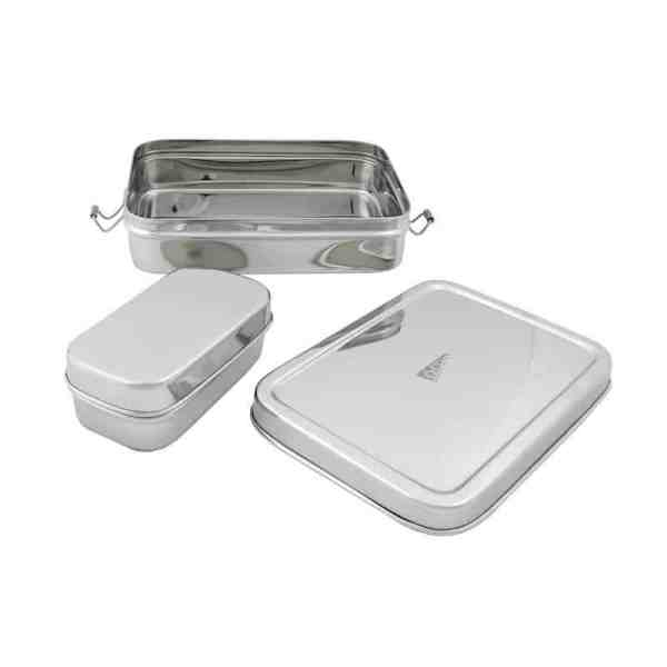 Large Rectangle Lunch Box With Mini