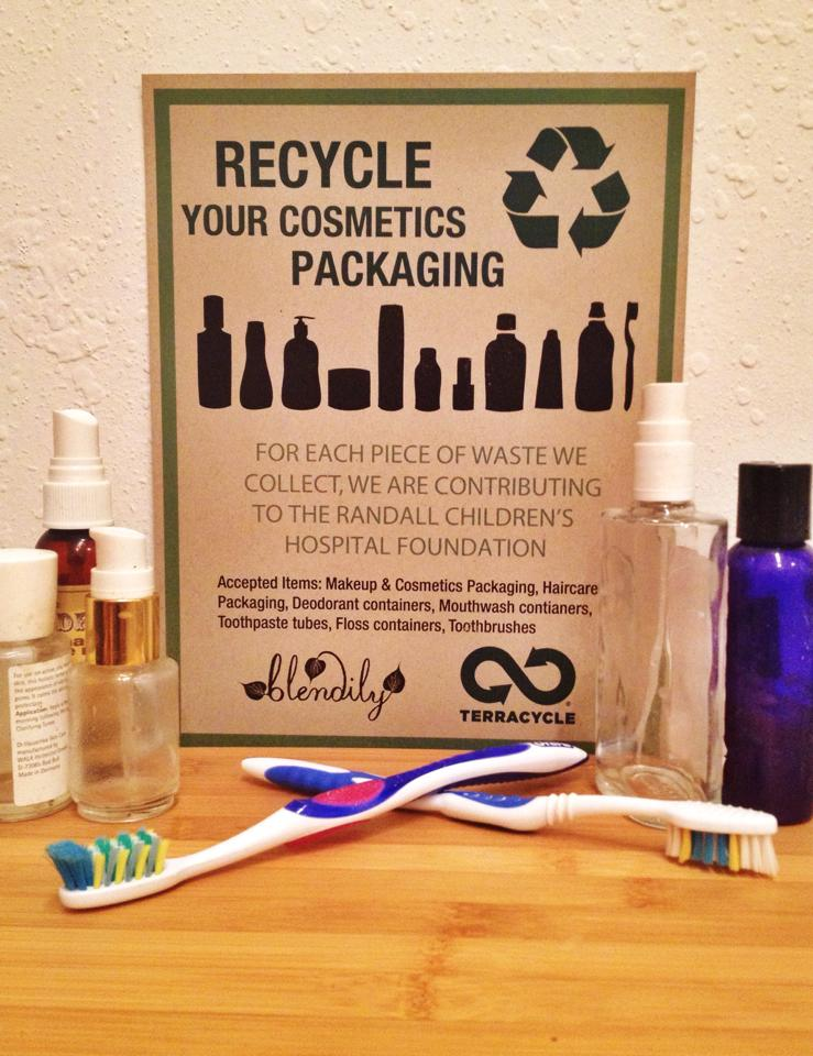where to recycle your used cosmetics
