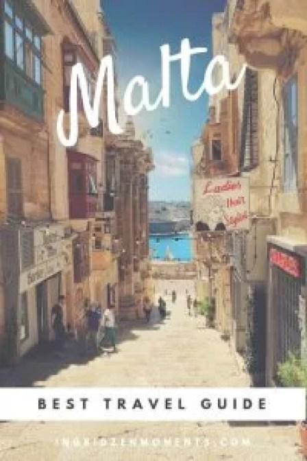 Malta vacation itinerary
