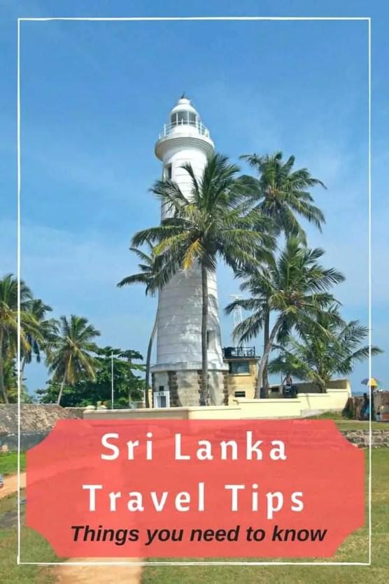 Sri Lanka Travel Tips   IngridZenMoments